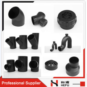 Metric Water Pipe Standards Dimensions Plastic Plumbing PE Fittings pictures & photos