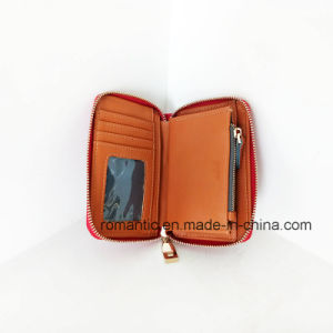 Brand Designer Fashion Lady Fake Suede Wallet (NMDK-050601) pictures & photos