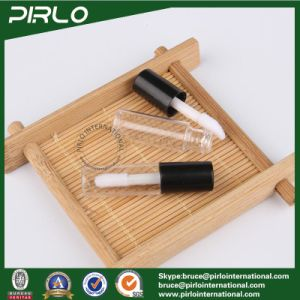 1ml 1g Mini Plastic Lipstick Tube for Lipstick Lip Balm Sampler Lipstick Tube with Brush and Black Cap pictures & photos