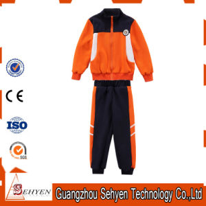 Black Orange Primary School Uniforms Kids School Uniform Design pictures & photos