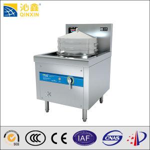 Large Power Dumpling Buns Electric Steamer for Restaurant (QX-QXL) pictures & photos