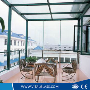 Ultra Clear/Clear Laminated Glass with Csi for Building Glass (L-M) pictures & photos