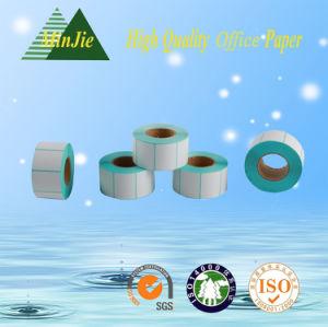 Cash Register Paper Type Self Adhesive Printing Blank Thermal Paper Label Roll