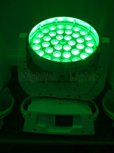 36*10W LED Zoom Moving Head Wash Light pictures & photos