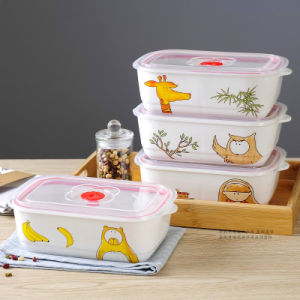 Food Grade Lunch Plastic Box/Food Storage Container pictures & photos