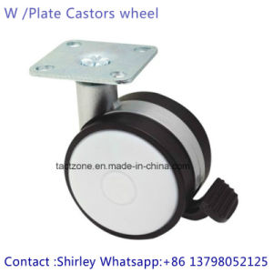China High Quality Top Plate Hot Furniture Hardware Leveling Caster Wheels pictures & photos