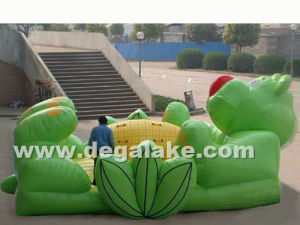Bear with Pineapple Inflatable Jumping Bouncer, Bouncy Castle pictures & photos
