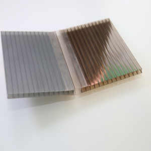 Garden Roofing Material Colored Polycarbonate Sheet pictures & photos