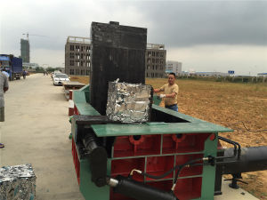 Y81f-160 Scrap Metal Baler Machine pictures & photos