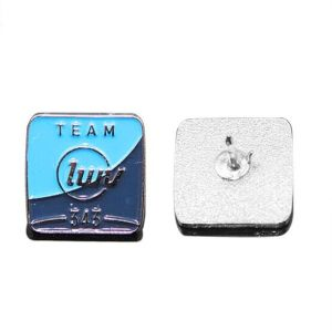 Promotion Gift Metal Square Badge with Custom Logo pictures & photos