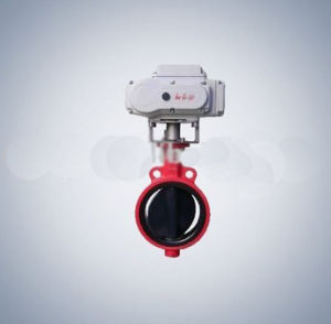 Motorized Butterfly Valve with Hl Type Actuators pictures & photos