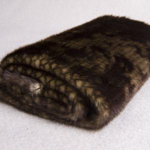 Snake Pattern Jacquard Plush (DTH010)
