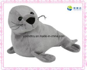 Grey Lifelike Sealion Stuffed Toy pictures & photos