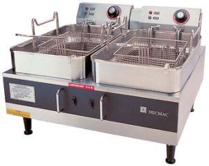 Desktop Electric Fryers ---Double Tanks (FEHCD214) pictures & photos