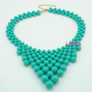 New Style Lady Beads Linked by Handmade Charms Fashion Necklace Female Necklace Aw257