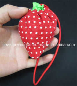 Canvas Strawberry Shopping Bag