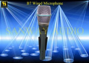 PRO Audio Karaoke Wire Condenser Microphone (B7) pictures & photos