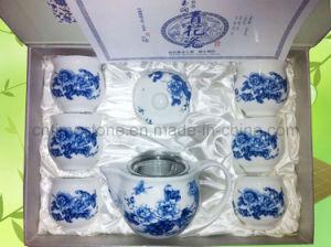 Bone China in Glaze Decal Tea Set (6615-008) pictures & photos