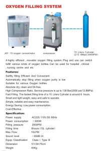 Portable Oxygen Filling System pictures & photos