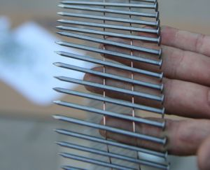 15° Galvanized Coil Nail with Smooth Shank of Size 2.3mm X 50mm pictures & photos