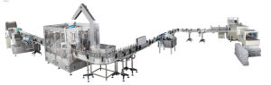Glass Bottle Carbonated Drink Filling Production Line Machinery pictures & photos