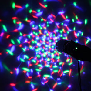 Color Ball Light Cheap Stage Disco 3W DJ Mini Party Lighting