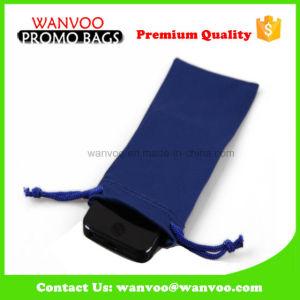Velvet Eco-Friendly Mini Cell Phone Drawstring Pouches pictures & photos