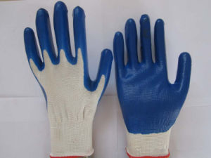 Industrial Rubber Latex Protective Work Glove pictures & photos