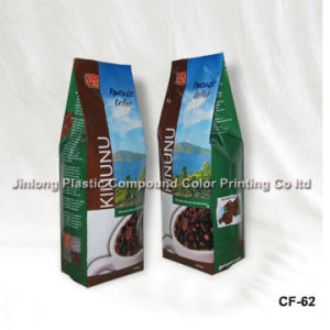 Quad Sealed Plastic Packaging Bag for 250g Coffee pictures & photos