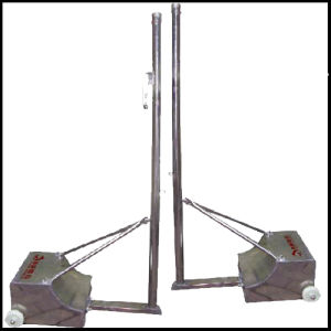 Stainless Steel Badminton Stand /Badminton Post/Badminton Upright (XP2079)