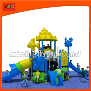 Mich Outdoor Kids Playground Plastic Slides (5235A) pictures & photos