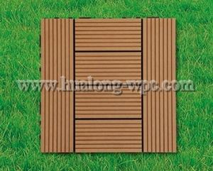Wood Plastic Composite WPC DIY Tile for Swimming Pool pictures & photos