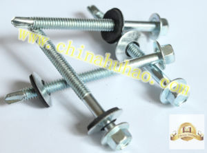 Screw/Hex Washer Head Self Drilling Screw pictures & photos