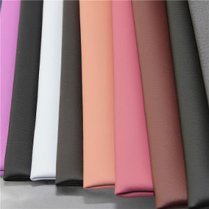 High Strength PU Synthetic Leather for Sofa Furniture pictures & photos