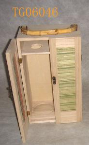 Wooden Wine Bottle Box (TG06046)