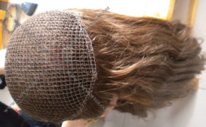 Fish Net Women′s Toupee (AV-TP01S) pictures & photos