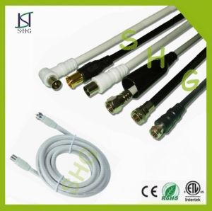 3C 2V Coaxial Cable with Connectors pictures & photos