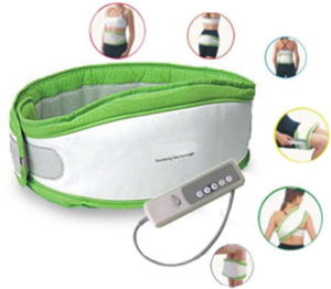 Crazy Fat Removing Massage Belt (Green) (MSB105)