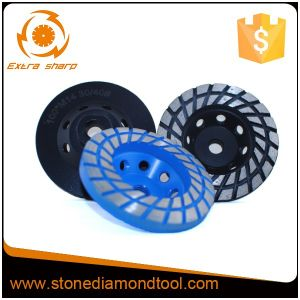 Professional Diamond Grinding Cup Wheel for Stone Process pictures & photos