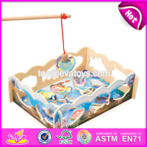 New Design Children Pretend Play Wooden Magnetic Fishing Game W01A190 pictures & photos
