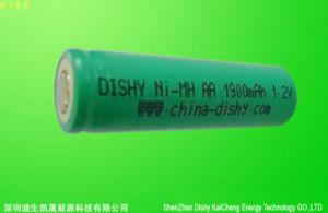 Rechargeable AA Size 1900mAh Ni-Zn Battery