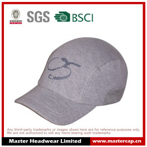 Cotton Jersey Stretch Sports Cap with Printing