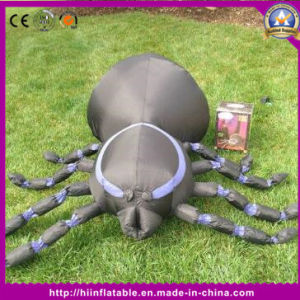 2016 New Attractive Inflatable Halloween Outdoor Spider for Holiday