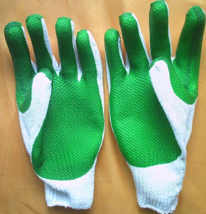 Latex Rubber Glove /Coated PU Gloves/Hand Gloves pictures & photos
