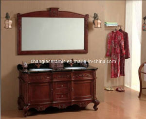 Modern Design Bedroom Cabinet with Marble Basin pictures & photos