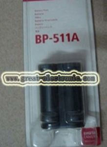 Battery for Powershot G6 (BP-511/BP511)