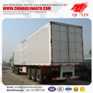 40feet Tri-Axle Container Box Trailer with Competitive Price pictures & photos
