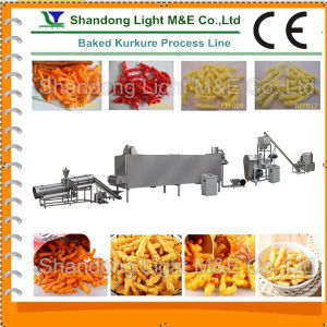 Best Automatic Extruded Corn Kurkure Snack Food Machine pictures & photos