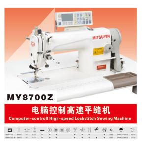 Computer Control High Speed Lockstich Sewing Machine (MY8700Z)