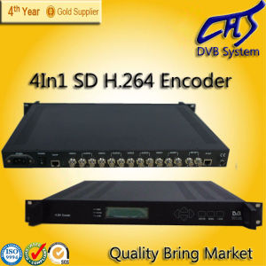 4 in 1 MPEG-4 H. 264 SD Encoder (HT101-10)